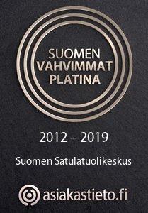 Suomen Vahvimmat Platina 2012-2019