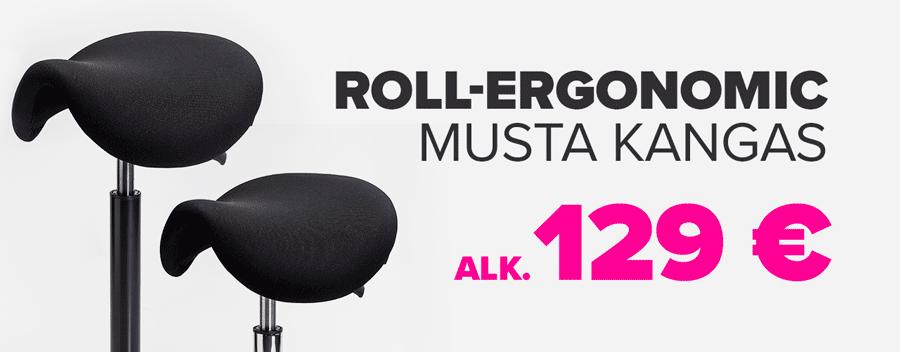 Roll-Ergonomic satulatuoli tarjous alk. 129€