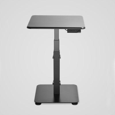 GetUpDesk Single -sähköpöytä, musta