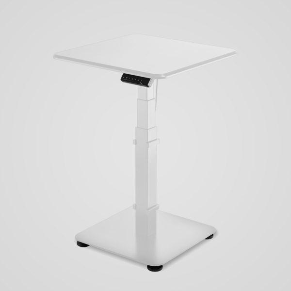 GetUpDesk Single -sähköpöytä, valkoinen