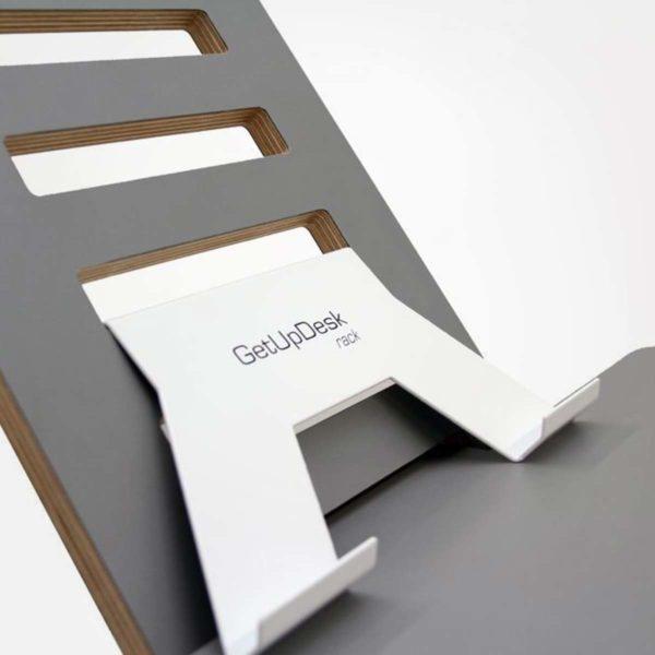 GetUpDesk rack