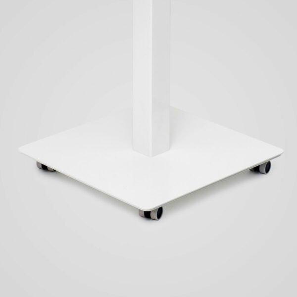 Stoo Desk Single – pieni sähköpöytä pyörät