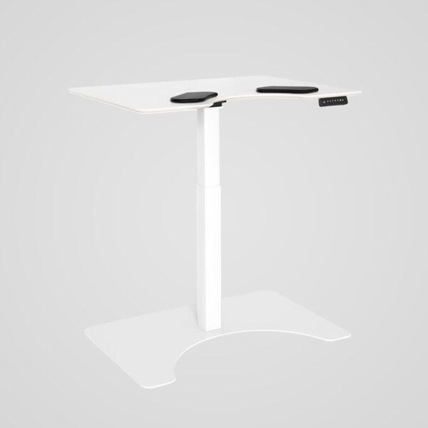 Salli E-desk sähköinen työpöytä, valkoinen